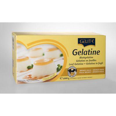 GELITA BRONZE GELATINE LEAF 1KG