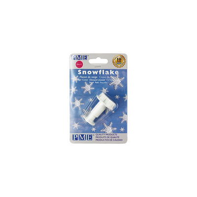 PME PLUNGER CUTTER SMALL SNOWFLAKE 25MM