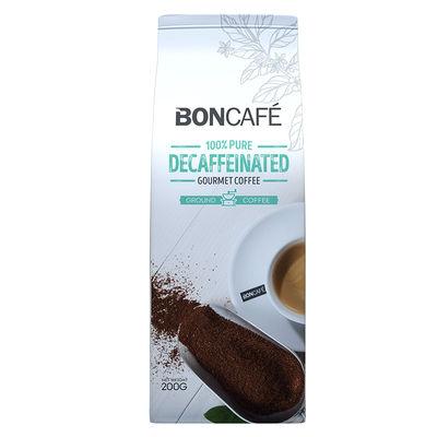 BONCAFE DECAFFEINATED COFFEE GROUND 200G