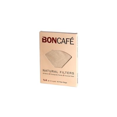 BONCAFE NATURAL COFFEE FILTER BAG 40PC