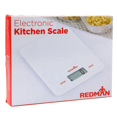 REDMAN KITCHEN SCALE DIGITAL PLASTIC WHITE 5KG