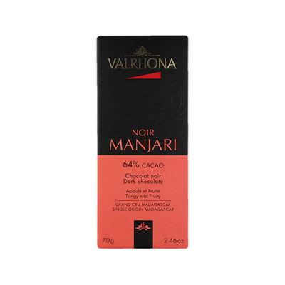 VALRHONA MANJARI 64% MADAGASCAR DARK CHOCOLATE 70G