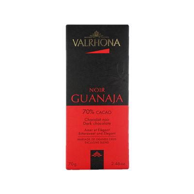 VALRHONA DARK CHOC GUANAJA 70% VALRHONA 70G
