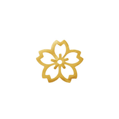 HAKUICHI DECOR GOLD CHERRY BLOSSOM 10PC