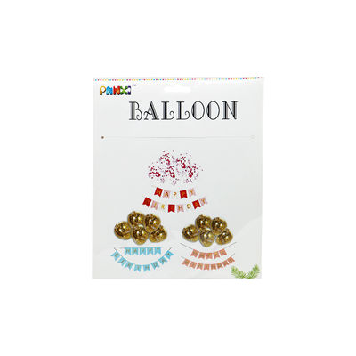 BALLOON HAPPY BIRTHDAY HANGING SET