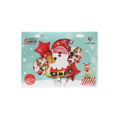 BALLOON CHRISTMAS SANTA SET