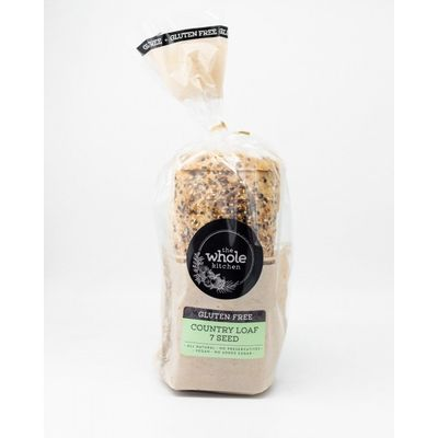 THE WHOLE KITCHEN FROZEN GF COUNTRY LOAF-7 SEED 700G
