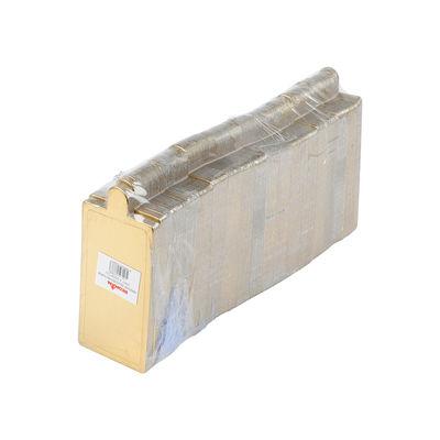 REDMAN PAPER PLATE RECT GOLD 8.9X5CM 200PC