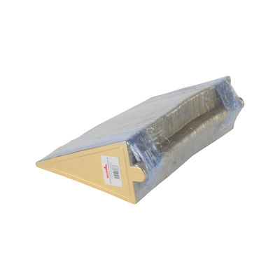 REDMAN PAPER PLATE TRI GOLD 6.4X11.3CM 200PC
