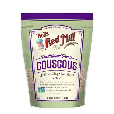 BOB'S RED MILL PEARL COUSCOUS NATURAL 16OZ