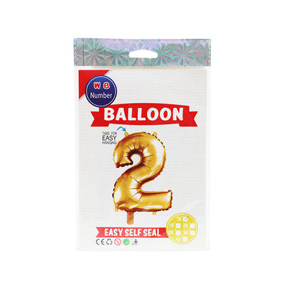 """BALLOON NUMBER 2 GOLD 16"""""""
