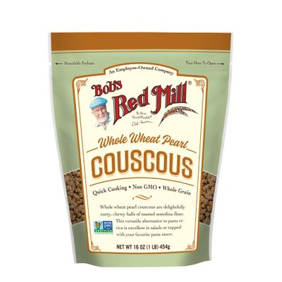 BOB'S RED MILL WHOLE WHEAT PEARL COUSCOUS 16OZ