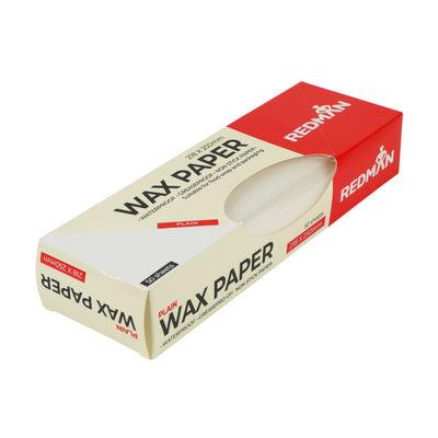 REDMAN WAX PAPER PLAIN 218X250MM 50PC