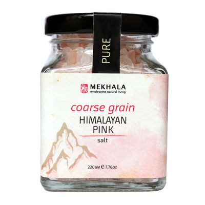 MEKHALA HIMALAYAN PINK SALT COARSE 220G