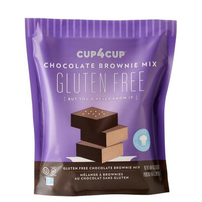 CUP4CUP GLUTEN FREE CHOCOLATE BROWNIE MIX 0.9LB
