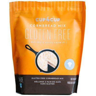 CUP4CUP GLUTEN FREE CORNBREAD MIX 0.9LB