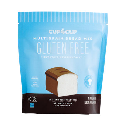 CUP4CUP GLUTEN FREE MULTIGRAIN BREAD MIX 1.2LB