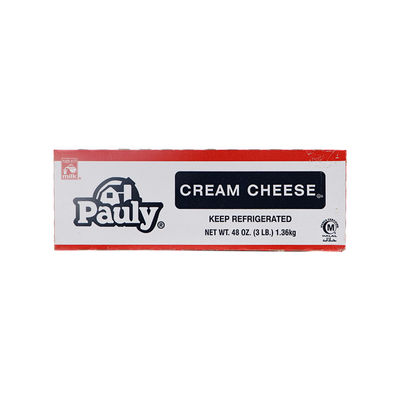 PAULY CREAM CHEESE 1.36KG