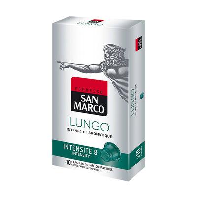SAN MARCO LUNGO COFFEE CAPSULE 10'SX5.1G