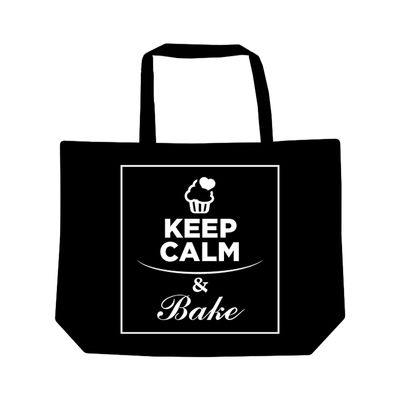 REDMAN TOTE BAG KEEP CALM BAKE