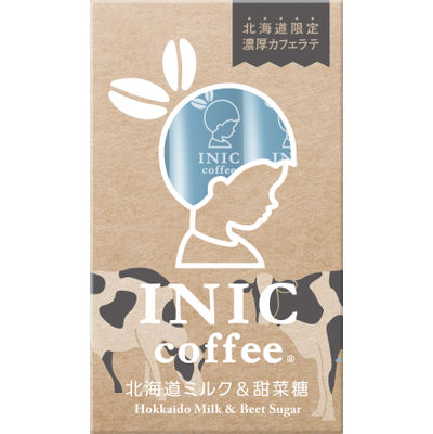 INIC COFFEE HOKKAIDO LATTE (3CUPS)