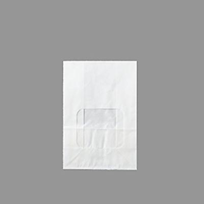 TOMIZ PLAIN WHITE WINDOW BAG(SMALL) 10PC