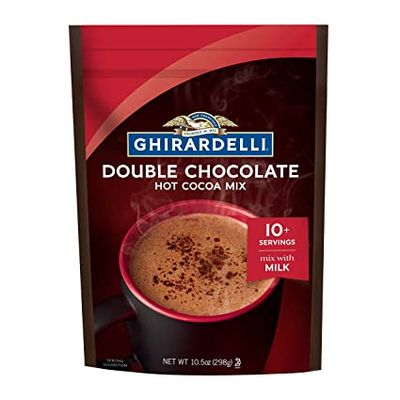 GHIRARDELLI HOT COCOA POUCH DOUBLE CHOCOLATE 298G