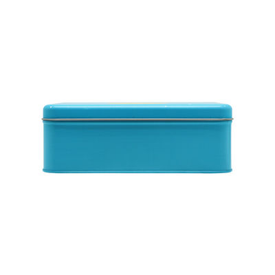 OTHERS MOONCAKE METAL TIN W TRAY 2S LIGHT BLUE