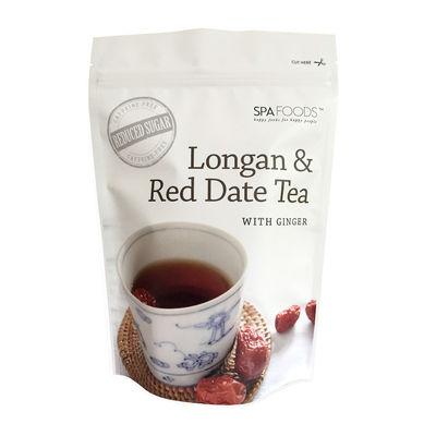 SPA FOODS LONGAN RED DATE & GINGER TEA