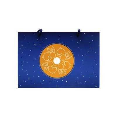 OTHERS MOONCAKE PAPER BAG 8S DARK BLUE 247X145X54MM