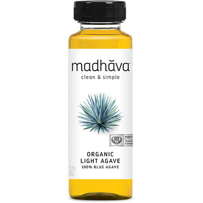 MADHAVA AGAVE GOLDEN LIGHT ORGANIC 333G