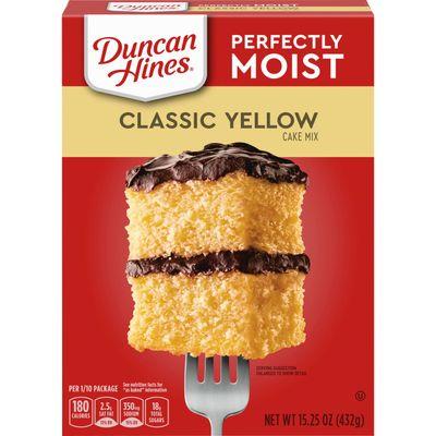 DUNCAN HINES CLASSIC YELLOW CAKE MIX 432G