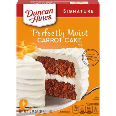 DUNCAN HINES SIGNATURE CARROT CAKE MIX 432G