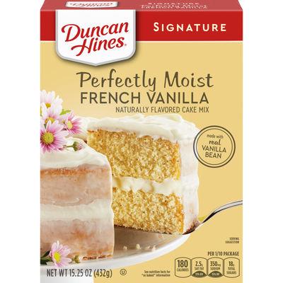 DUNCAN HINES SIGNATURE FRENCHVANILLA CAKE MIX 432G