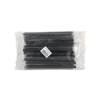 REDMAN SINGLE WRAPPED STRAW 12X21CM BLACK