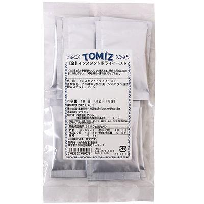 TOMIZ INSTANT DRY YEAST(GOLD) 10X3G