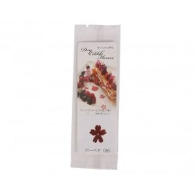 TOMIZ EDIBLE FLOWER (VERBENA RED) 5PIECES