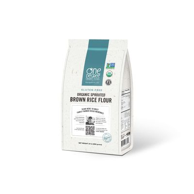 ONE DEGREE GF FLOUR RICE SPROUTED 24OZ