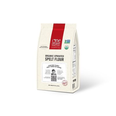 ONE DEGREE FLOUR SPELT SPROUTED 80OZ
