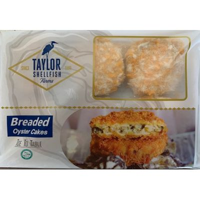 TAYLOR SHELLFISH FROZEN BREADED OYSTER CAKES