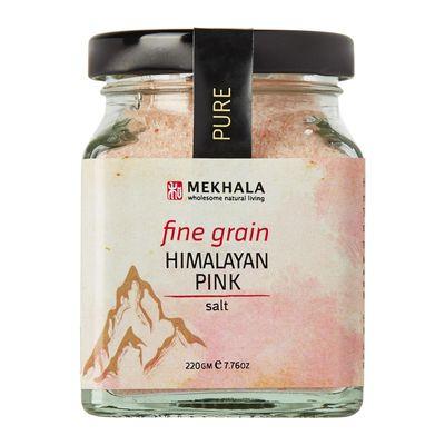 MEKHALA HIMALAYAN PINK SALT (FINE) 220G