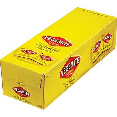 VEGEMITE SPREAD PORTION BOXX90PCX4.8G
