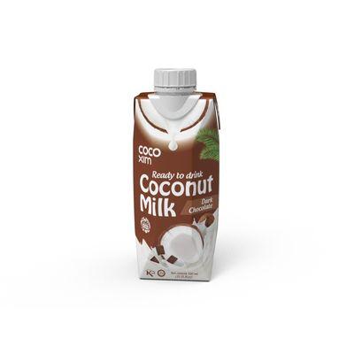COCOXIM COCONUT MILK DARK CHOCOLATE 330ML