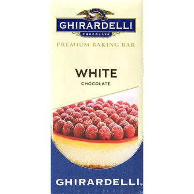 GHIRARDELLI BAKING BAR WHITE 113.5G