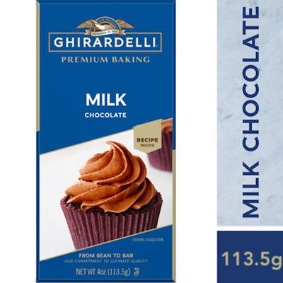 GHIRARDELLI BAKING BAR MILK CHOCOLATE 113.5G