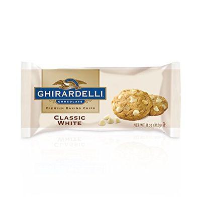 GHIRARDELLI WHITE CHOCOLATE BAKING CHIP CLASSIC 312G