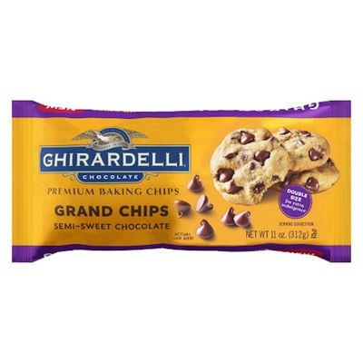 GHIRARDELLI GRAND BAKING CHIPS SEMISWEET 312G