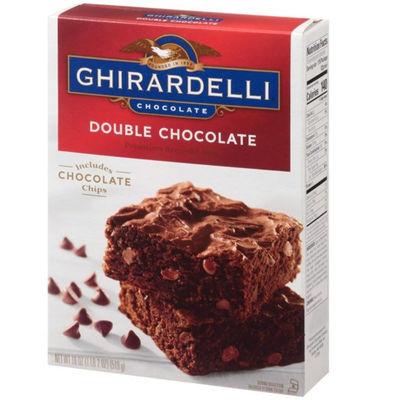 GHIRARDELLI DOUBLE CHOCOLATE BROWNIE MIX 510G