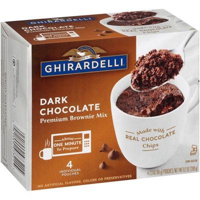 GHIRARDELLI MUG DARK CHOCOLATE BROWNIE MIX 260G