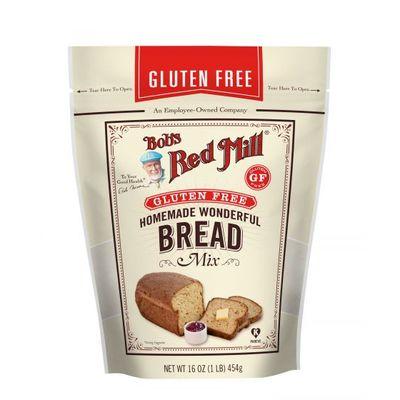 BOB'S RED MILL GLUTEN FREE HOMEMADE WONDERFUL BREAD MIX 16OZ